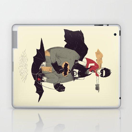to the batmobile! Laptop & iPad Skin