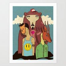 Savana Art Print