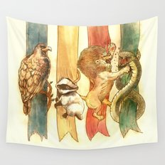 House Brawl Wall Tapestry