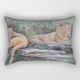 Zuri and Avus  Rectangular Pillow
