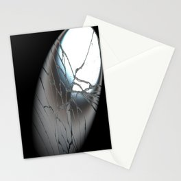 Broken Mirrow in the Spot   (A7 B0156) Stationery Cards