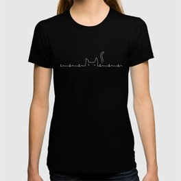 There is a cat in my heart T-shirt