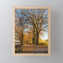 Autumn in Dolina Baryczy Framed Mini Art Print