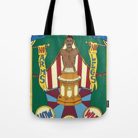 The Living Torso Tote Bag