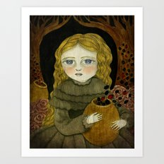 The Garden Tamer Art Print
