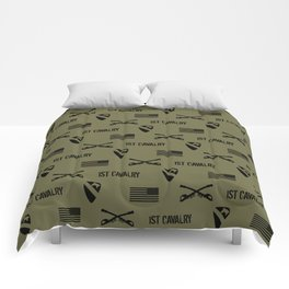 1st Cavalry Division Pattern (Green) Comforters