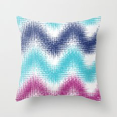 Batik Zig Zag Throw Pillow