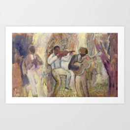 Explorers Art Print