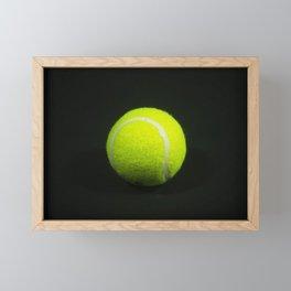 Tennis Ball Framed Mini Art Print