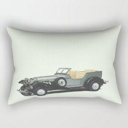Vintage Toy Car Rectangular Pillow