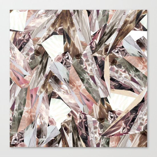 Arnsdorf SS11 Crystal Pattern Canvas Print