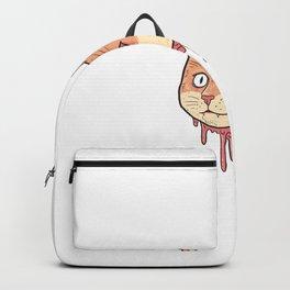 Cute Cut Cat Head Backpack