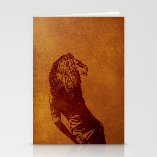 sexy lion Stationery Cards