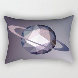 Geometric Saturn Rectangular Pillow