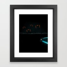 TRON RECOGNIZERS Framed Art Print