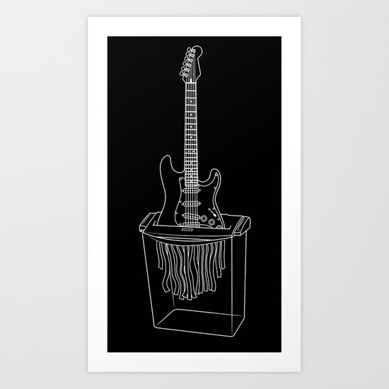 This Machine Kills Faxes Art Print