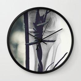 barbwire Wall Clock