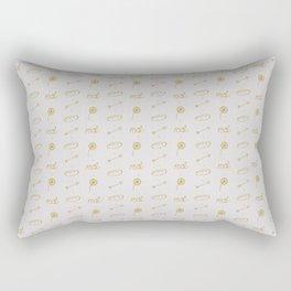 Everlark pattern Rectangular Pillow