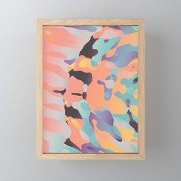 Planetary Fragmentation Framed Mini Art Print