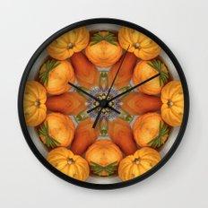 pumpkin ( pattern ) Wall Clock