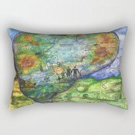 Neuronal Mind Rectangular Pillow