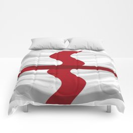 Flag Of England St George Cross Comforters