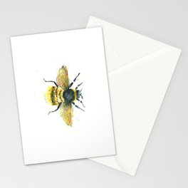 Bumblebee Art - Watercolor Bumblebee Art Stationery Cards