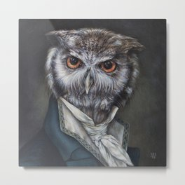 Professor Dapper Metal Print
