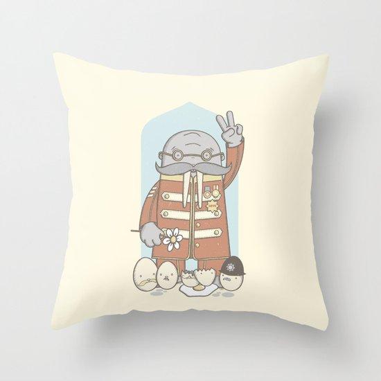 Meet The Walrus Throw Pillow