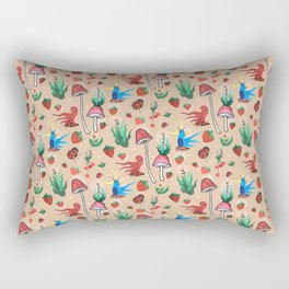 strawberry thieves Rectangular Pillow