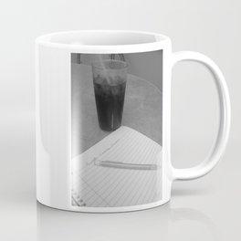 Coke and Poems- Black and White Coffee Mug