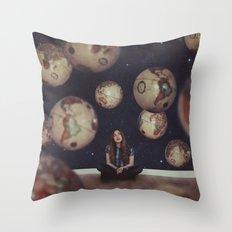 Otherworldly Throw Pillow