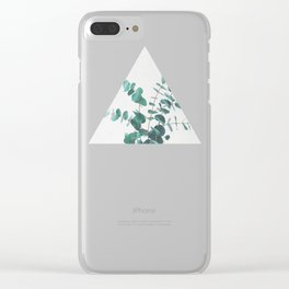 Eucalyptus II Clear iPhone Case