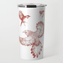 A beat of wings Travel Mug