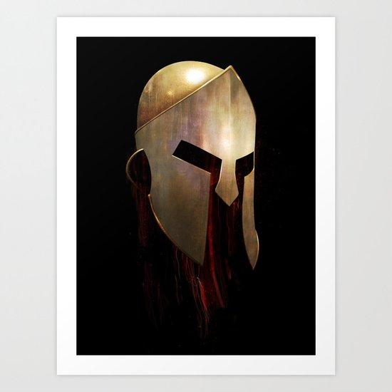The Last Spartan Art Print