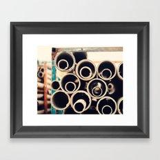 Roly Poly Framed Art Print