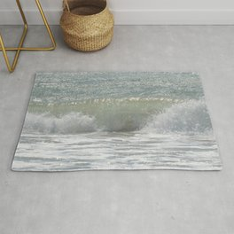 Loving the Waves number 3 Rug