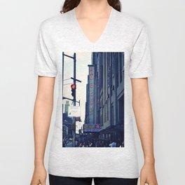 Radio City Unisex V-Neck