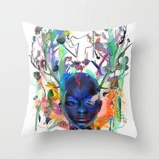 Seventh Sense Throw Pillow