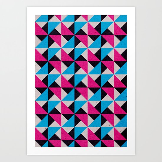 Geometrika: Jupiter Rover CM Art Print