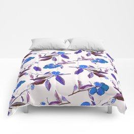 Clementines blue Comforters