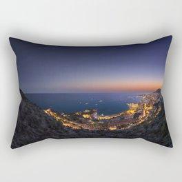 Twilight sunset Rectangular Pillow