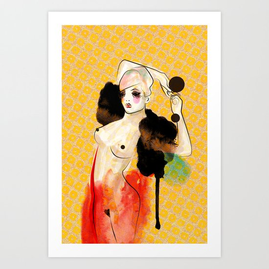 Just Another Night... Art Print