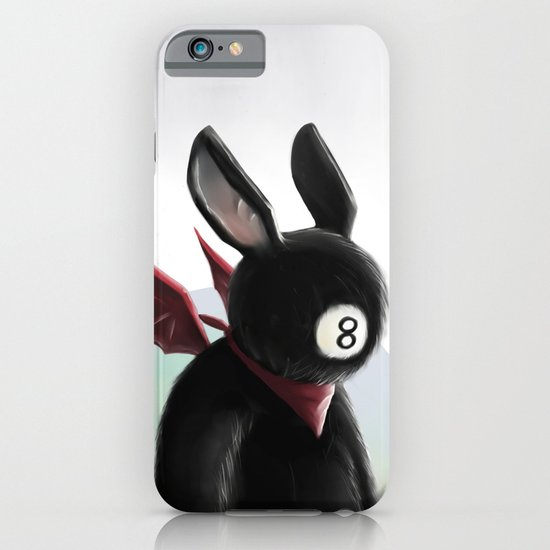 Eightball demon iPhone & iPod Case