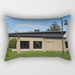 Lourdes University- Delp Hall Rectangular Pillow