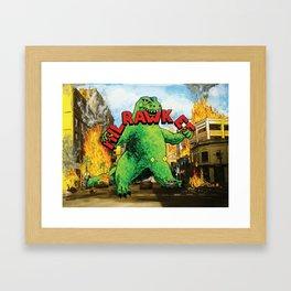 MilRAWKee Framed Art Print