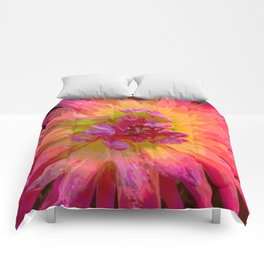 "Extreme Dahlia ""Hollyhill Margarita"" Comforters"