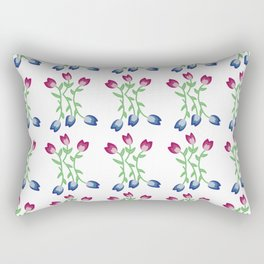 Tulips III Rectangular Pillow