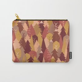 warm autumn woods Carry-All Pouch