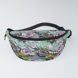 succulent cupcakes Fanny Pack